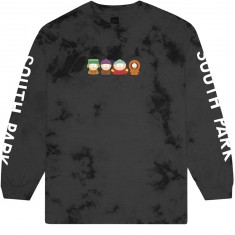 Huf X South Park Kids Crystal Wash Longsleeve T-Shirt - Black