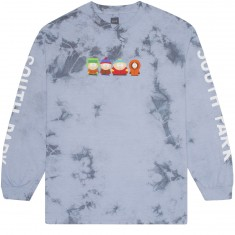 Huf X South Park Kids Crystal Wash Longsleeve T-Shirt - Powder Blue