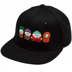 Huf X South Park Kids Strapback Hat - Black