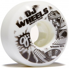 OJ Rattlers EZ Edge Insaneathane Skateboard Wheels - 53mm