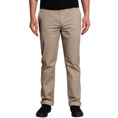 KR3W K Slim Chino Pants - Dark Khaki