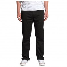 KR3W Klassic Chino Pants - Black