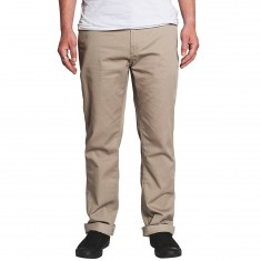 KR3W Klassic Chino Pants - Dark Khaki