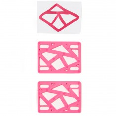 "Krooked 1/8"" Riser Pad Set - Hot Pink"