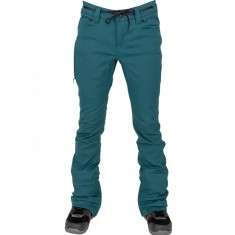 L1 Heartbreaker Basic Womens Snowboard Pants - Deep Teal