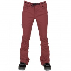 L1 Heartbreaker Basic Womens Snowboard Pants - Oxblood