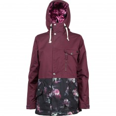 L1 Yoko Snowboard Jacket - Port/Rose Print