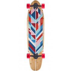 Landyachtz Bamboo Ripper Geo Feather Longboard Complete