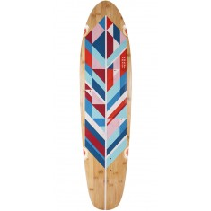 Landyachtz Bamboo Ripper Geo Feather Longboard Deck