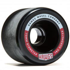 Landyachtz Fatty Hawgs Longboard Wheels - 63mm - 78a - Black