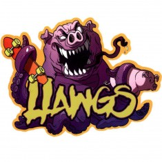 Hawgs Pig Octopus Sticker