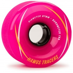 Landyachtz Hawgs Tracers Longboard Wheels - 67mm - 78a