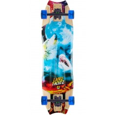 Landyachtz Hollowtech Wolfshark Re-Issue Longboard Complete