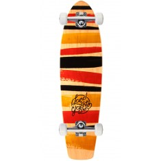 "Landyachtz Mini Dinghy 24"" Stripes Longboard Complete"