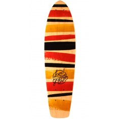 "Landyachtz Mini Dinghy 24"" Stripes Longboard Deck"