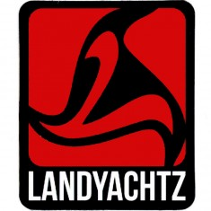 Landyachtz Red Logo Sticker