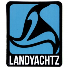 Landyachtz Blue Logo Sticker