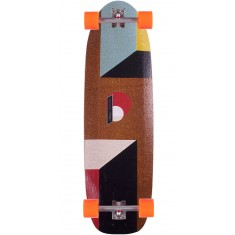 Loaded Truncated Tesseract Longboard Skateboard Complete