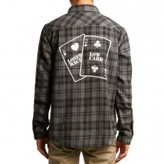Loser Machine X Lowcard Flannel Shirt - Black