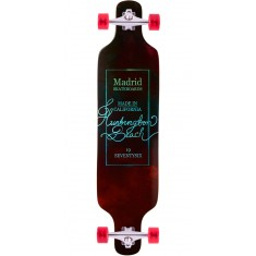 "Madrid Dream 39"" Top Mount Longboard Complete - Vino"