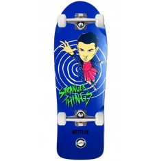 Madrid X Stranger Things Eleven Blue Skateboard Complete