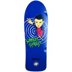 Madrid X Stranger Things Eleven Blue Skateboard Deck