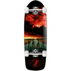Madrid X Stranger Things Road Poster Skateboard Complete