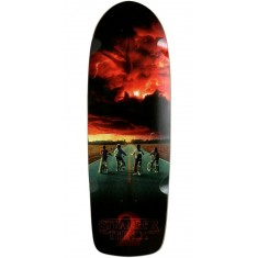 Madrid X Stranger Things Road Poster Skateboard Deck