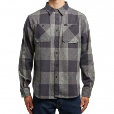 Matix Bison Flannel Shirt - Charcoal