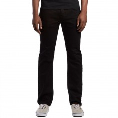 Matix Gripper Slim Straight Jeans - True Black
