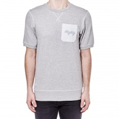 Mighty Healthy Winston Terry T-Shirt - Grey