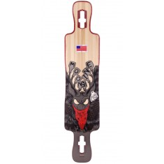 Moonshine County Line Longboard Deck - Hard