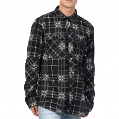 Neff Engine Flannel Snowboard Jacket - Black