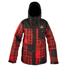 Neff Peak Jacket - Red Plaid