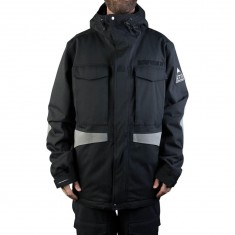 Neff Warren Snowboard Jacket - Black
