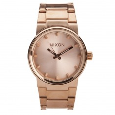Nixon Cannon Watch - All Rose Gold