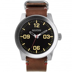 Nixon Corporal Watch - Black/Brown