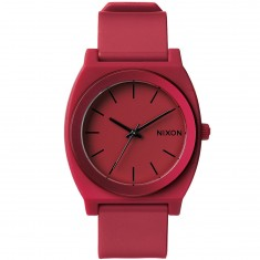 Nixon Time Teller P Watch - Dark Red Ano