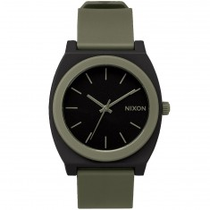 Nixon Time Teller P Watch - Matte Black/Surplus