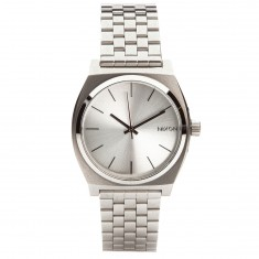 Nixon Time Teller Watch - All Silver