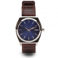 Nixon Time Teller Watch - Brown Gator