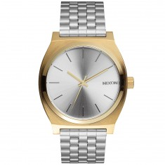 Nixon Time Teller Watch - Gold/Silver/Silver