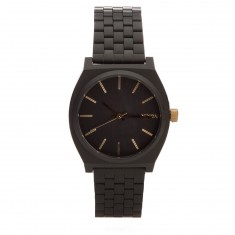 Nixon Time Teller Watch - Matte Black / Gold