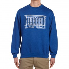 CCS No Security Crewneck Sweatshirt - Royal Heather