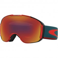 Oakley Airbrake XL Snowboard Goggles - Red Region Blue/ Prizm Torch