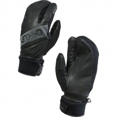 Oakley Factory Winter Trigger Mitt 2 Snowboard Gloves - Jet Black