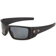 Oakley Fuel Cell Sunglasses - Matte Black/Grey Polarized