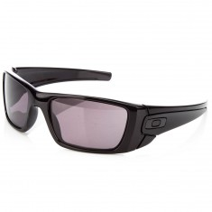 Oakley Fuel Cell Sunglasses - Polished Black with Warm Grey