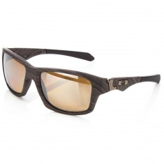 Oakley Jupiter Squared Sunglasses - Woodgrain with Tungsten Iridium Polarized