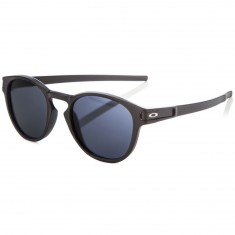 Oakley Latch Sunglasses - Matte Black/Grey